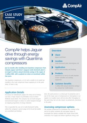 compair helps jaguar drive through energy savings with quantima compressors