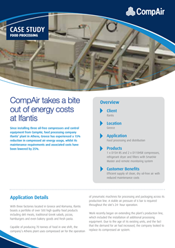 CompAir takes a bite out of energy costs at Ifantis