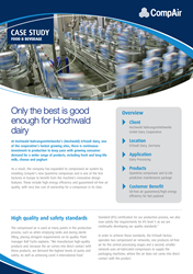 Only the best is good enough for Hochwald dairy