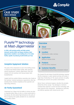 PureAir technology at Mast-Jagermeister