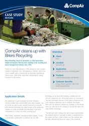 CompAir cleans up with Briers Recycling