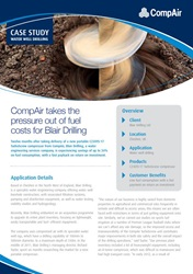 CompAir takes the pressure out of fuel costs for Blair Drilling