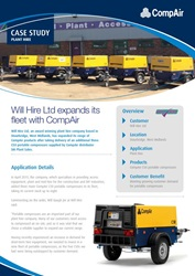 Will Hire Ltd expands its fleet with CompAir
