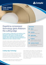 Quantima compressor technology gives Ahlstrom the cutting edge
