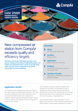 New compressed air station from CompAir exceeds quality and efficiency targets