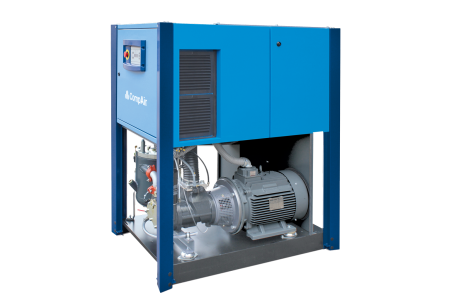 Lubricated Rotary Screw Compressor 23 - 29 kW inside