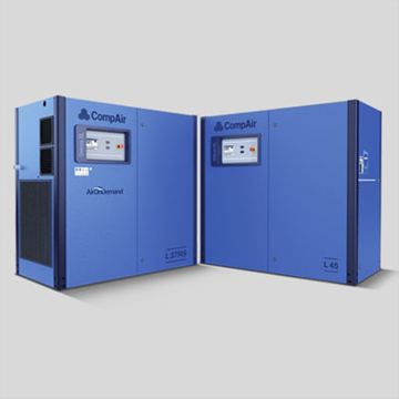 Oil lubricated 30 to 45 kw air compressor