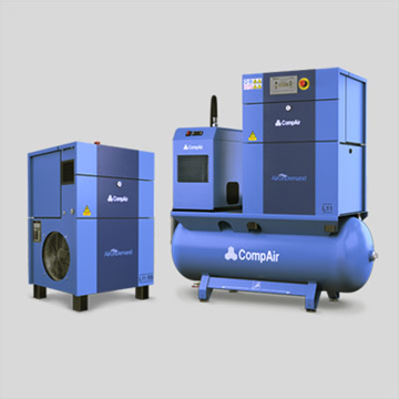 Oil lubricated 7 to 22 kw air compressor