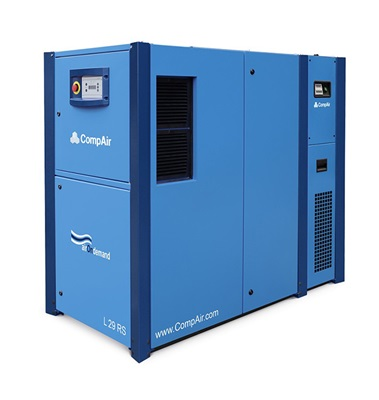 L29RS variable speed air screw compressor with dryer 30 kW