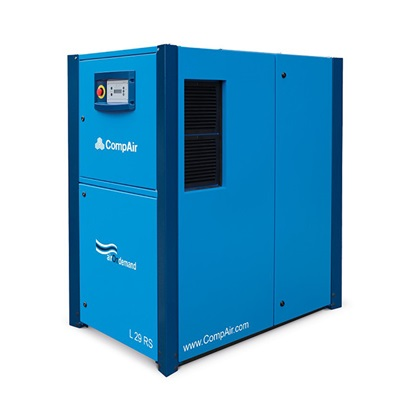 variable speed Lubricated Rotary Screw air compressor 30 kW