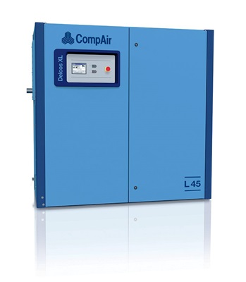 L45RS lubricated screw air compressor 45 kW