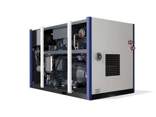 D series oil free screw air compressor