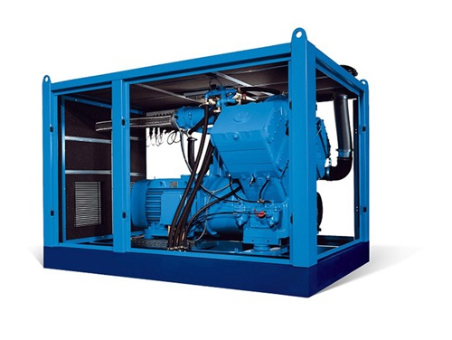 oilfree piston compressor r-serie open
