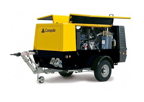 large portable air compressor C85 overview
