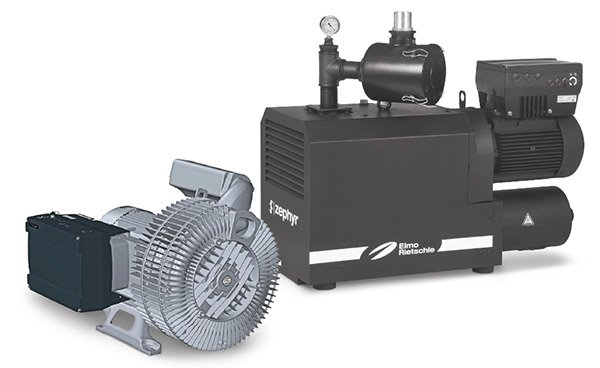Side channel compressor and claw vacuum pump