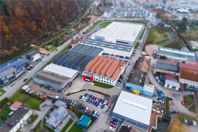 ELMO Rietschle new factory