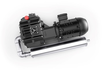 VLR 62 Claw Vacuum Pump Passive Cooling from Elmo Rietschle