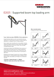 E2025 Supported Boom Top Load Us Size