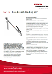 E2110 Fixed Reach Loading Arm Us