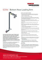 Ee2304 Bottom Hose Loading Arm