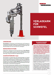 Sulphur Loading Arm German flyer