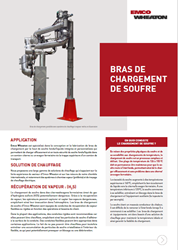 Sulphur Loading Arm french flyer