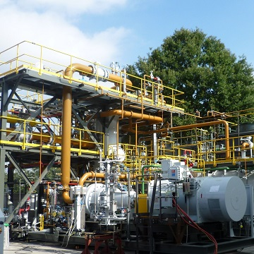 Vapor Recovery Unit - Liquid Ring Compressor System