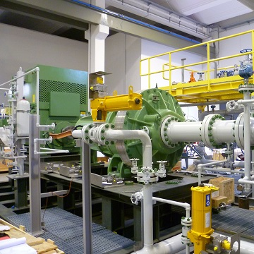 GARO Non-Condensable Gas Liquid Ring Compressor System