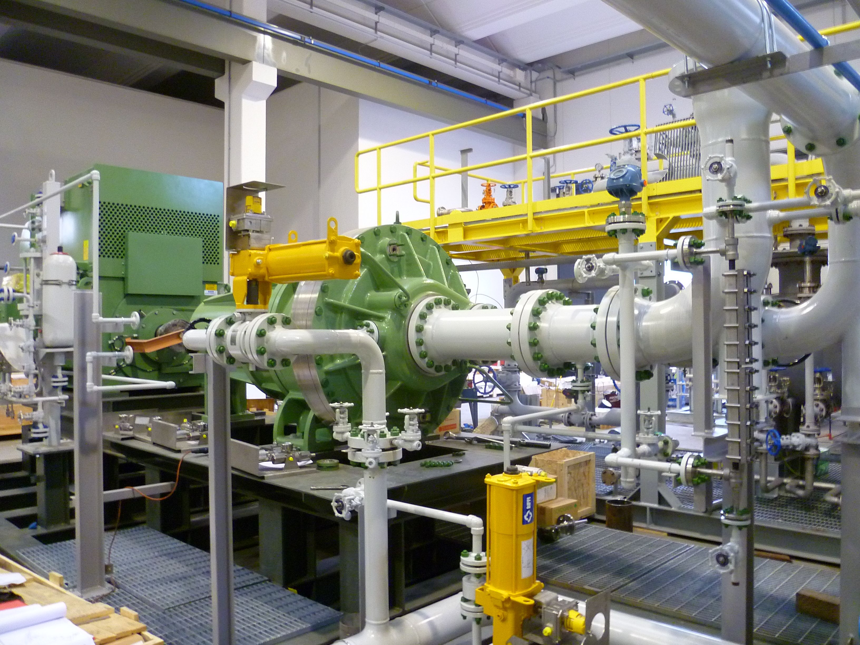 GARO Liquid Ring Compressor System for Non-Condensable Gases