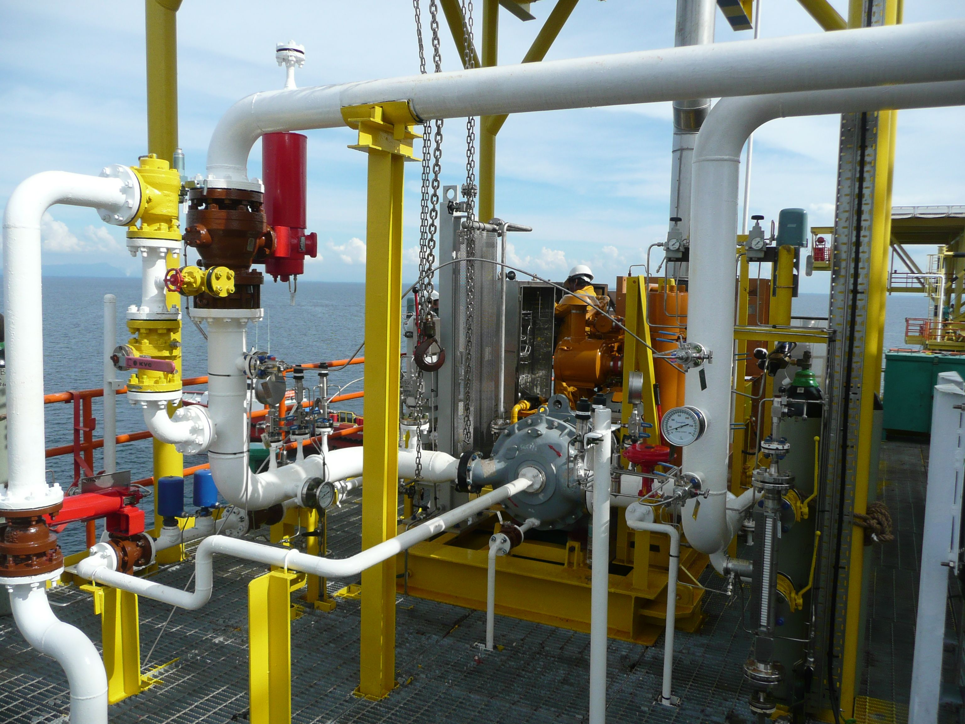 Garo Liquid Ring Compressor System for Offshore Applications