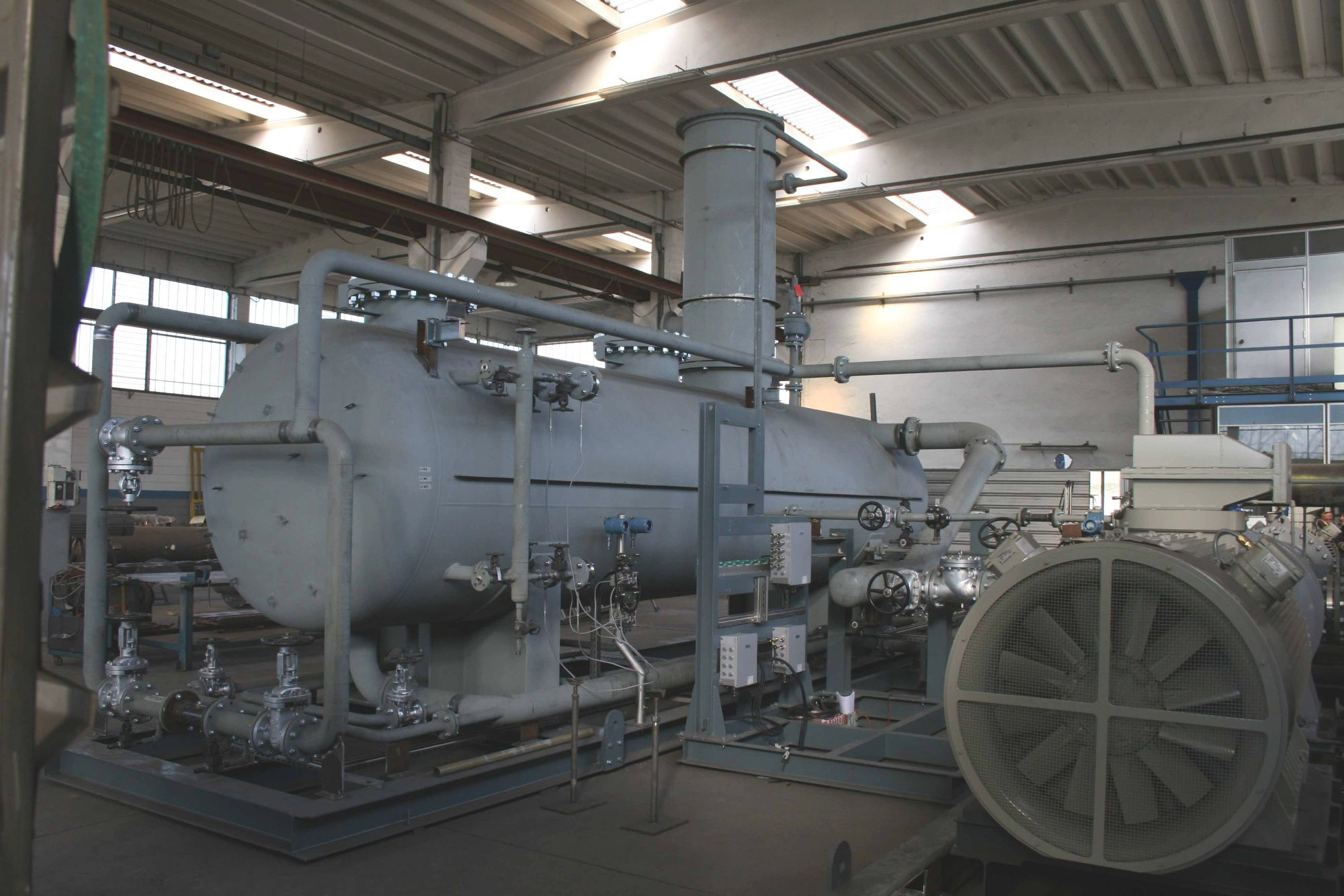 GARO WAIS (Washing Amine Integrated System) Liquid Ring Compressor System