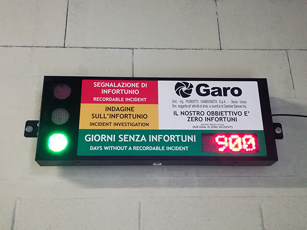 GARO Safety 900 Days