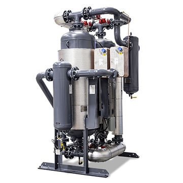 DHC Series Desiccant Dryer Back View