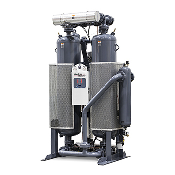 DHC Series Desiccant Air Dryer Angled View