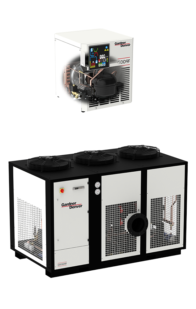 GDDF refrigerant air dryers