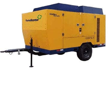 Portable Compressor Right Side