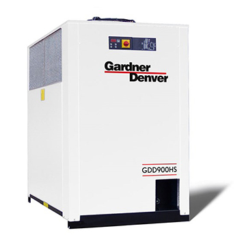 Dual technology dryer compressor GDD 9 HS Front View
