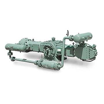 high pressure compressor horizontal Configuration