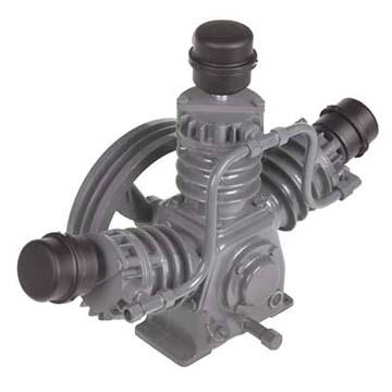 Command Air reciprocating compressor BWA Angle View