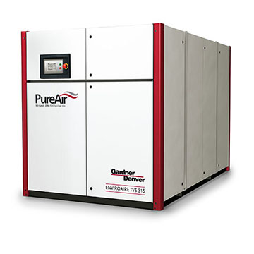 Rotary Screw Oil-free Air Compressor - EnviroAire TVS