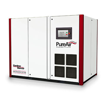 Rotary Screw Oil Free Compressor - EnviroAire TVS160