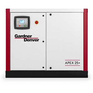 Screw compressor Apex Closed front