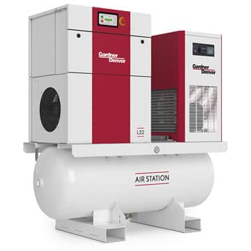 L Series Rotary Screw Compressors L22 Air Station