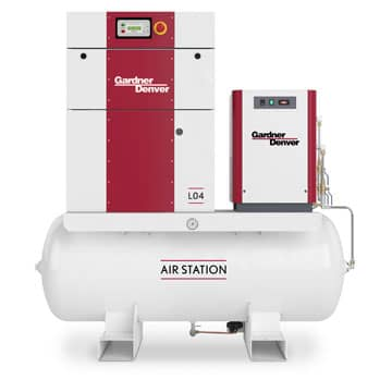 Screw Compressor L04 Air Station with Dryer