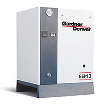Lubricated rotary screw compressor - EMS 2-6 Compressor