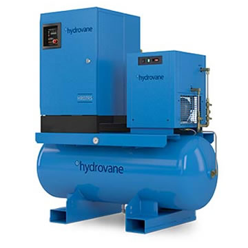 HR07RS Compressor on Tank with Dryer