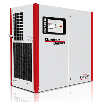 Lubricated rotary screw compressor - EMS VS 30-132