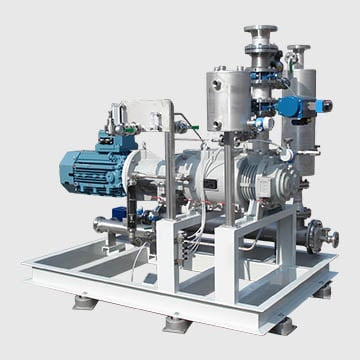 Customized Single Stage and Multistage Dry Screw Pump System