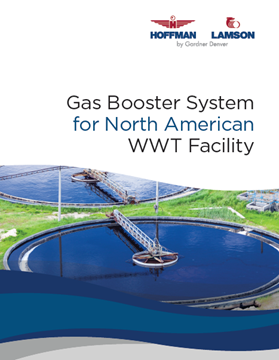 Gas Boosting System For North American WWT Facility
