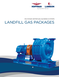 Multistage Centrifugal Blowers & Systems Landfill Gas Packages